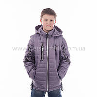 """Куртка-жилетка  для мальчика демисезонная """"Тигран"""",новинка 2017 года"""