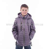 "Куртка-жилетка  для мальчика демисезонная ""Тигран"",новинка 2017 года, фото 1"