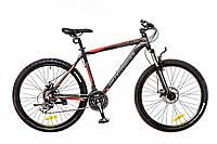 """Велосипед 26"""" Optimabikes F-1 AM 14G HDD Al черно-серо-красный (м)"""