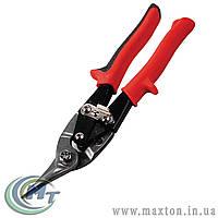 Ножницы по металлу 250 мм ПРАВЫЕ (левый рез), CrMo