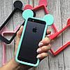 Бампер силиконовые ушки Микки на iPhone 5/5s/SE, фото 2