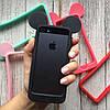 Бампер силиконовые ушки Микки на iPhone 5/5s/SE, фото 3