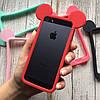 Бампер силиконовые ушки Микки на iPhone 5/5s/SE, фото 4