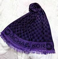 Палантин Michael Kors (Майкл Корс) фиолетовый