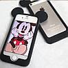 Бампер Микки черный для iPhone 6plus/6splus, фото 3