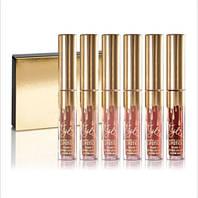 Стойкие жидкие матовые губные помады Kylie Birthday Edition набор 6 шт копия