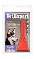 Капли на холку Вет Експерт ПРО Инсект для собак, щенков от 15 до 30 кг. Api-San. Средства от блох