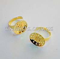 Заготовка для кольца, основа-сеточка 1,8см, золото