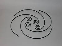Набор круглых шампуров 4 шт