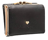 Модный женский кошелек Z001 mini black