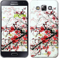 "Чехол на Samsung Galaxy E5 E500H Цветущий куст ""831c-82"""
