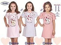 Ночная сорочка для девочки TM Baykar р.3-6 лет (4 шт в ростовке) серый меланж