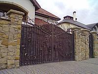 Кованые ворота (Прынц)