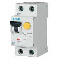 Дифференциальный автомат Eaton PFL6-10/1P+N/C/30мА