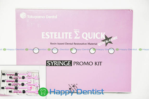 Эстелайт Сигма Квик (Estelite Sigma Quick Promo Kit) набор 6 шприцев