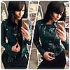 Женская куртка из эко кожи