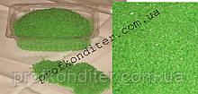 Кристаллы для декорирования САЛАТОВЫЕ 100 грамм
