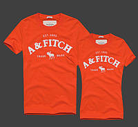 Abercrombie & Fitch original Мужские и Женские футболки 100% хлопок, фото 1
