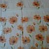 Тюль шифон цветы купон