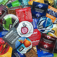 """Набор презервативов """"Попробуй все"""" 45 шт. (все виды разные)"""