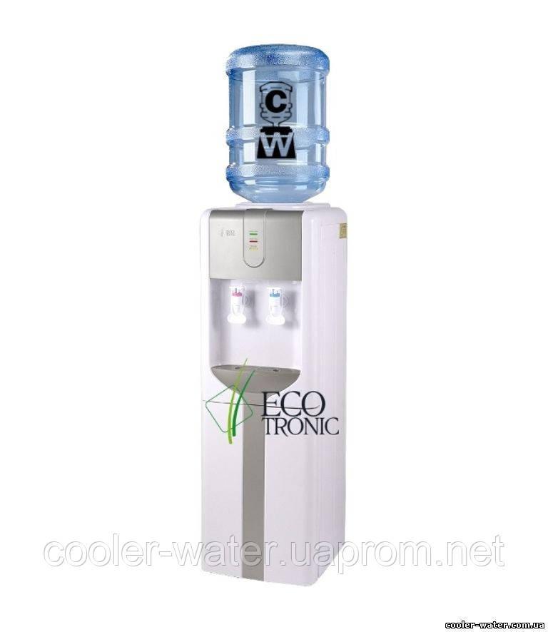 """Кулер для воды Ecotronic H3-L Silver - Интернет-магазин """"cooler-water"""" - Кулеры и аксессуары для воды в Киеве"""