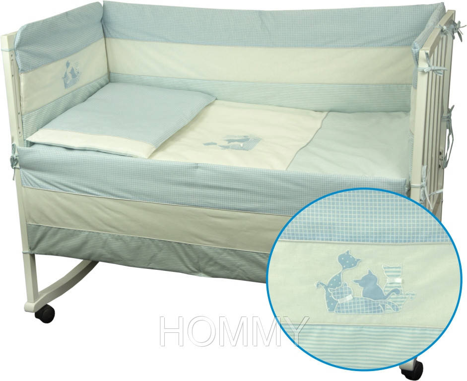 """Набор для детской кроватки """"Котята"""""""
