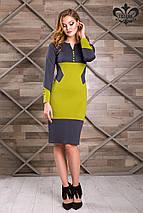 Двухцветное платье   Фьюри lzn, фото 2