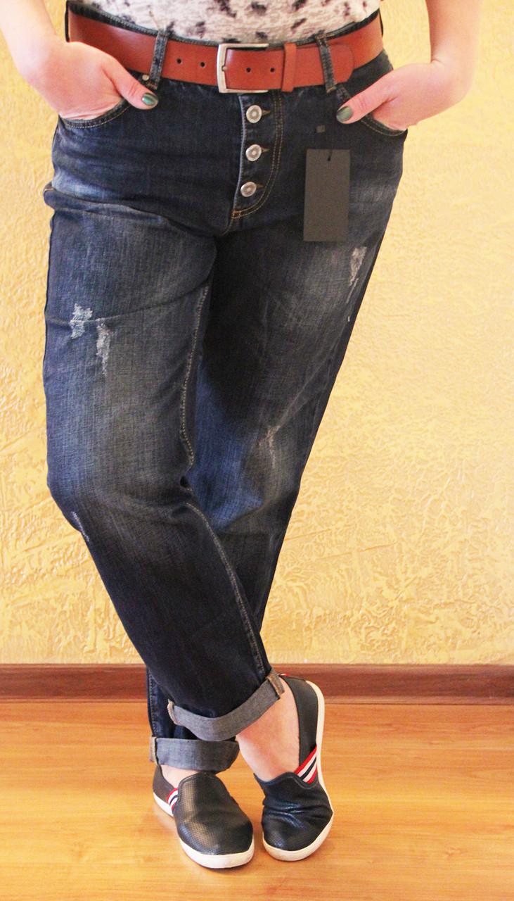 6f35cfcd496 Женские джинсы бойфренды полубатал Турция - bonny-style в Днепре