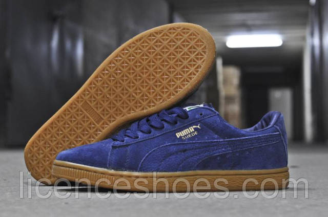 Кроссовки Puma Suede Classic. В приятном синем цвете.. Статьи ... 144df670c81