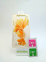 Стекло iPhone 5 Gold защитное для мобильного телефона.
