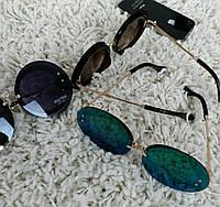 Солнцезащитные очки круглые большие 984