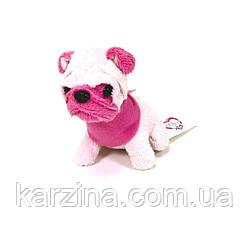 Мягкая игрушка Chi Chi Love Мопс розовый Мини-модница
