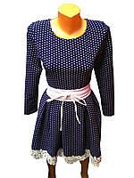 Платье женское синие