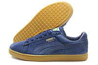 Синие красивые кроссовки Fenty Puma Suede Classic Производство Румыния ЕС