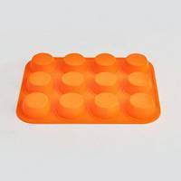 Силиконовая форма для кексов и мафиннов tiross ts 369