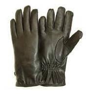 Перчатки кожаные армии Британии, черные