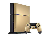 Игровая приставка Sony PlayStation 4 500GB - Limited Edition Gold + Uncharted Collection Bundle