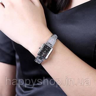 Женские ажурные часы-браслет Soxy (Black), фото 2