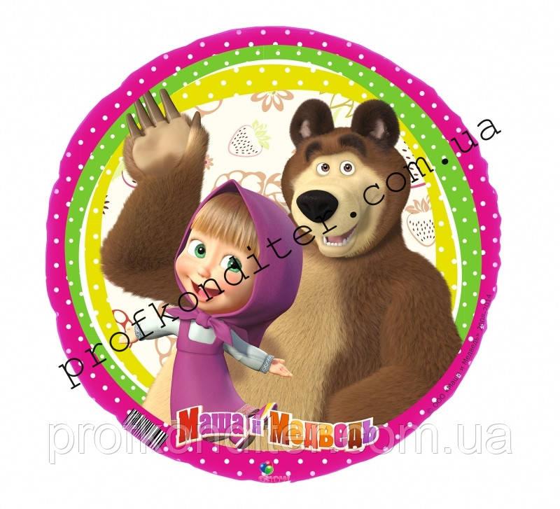 """Вафельная картинка """"Маша и медведь"""" - 22"""