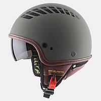 "Мотошлем MT-Helmets COSMO Matt Green Military ""XS-M"""