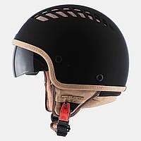 """Мотошлем MT-Helmets COSMO Matt Black """"XS-M"""""""