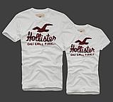 Hollister Мужские и Женские футболки 100% хлопок, фото 3