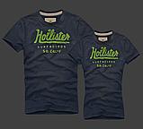 Hollister Женские и Мужские футболки 100% хлопок, фото 4