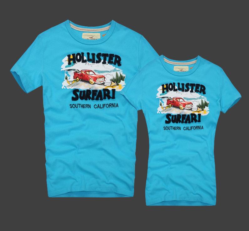 Hollister original Мужские и Женские футболки 100% хлопок