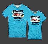Hollister Женские и Мужские футболки 100% хлопок, фото 5