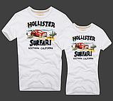 Hollister Женские и Мужские футболки 100% хлопок, фото 6