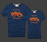 Hollister Женские и Мужские футболки 100% хлопок, фото 7