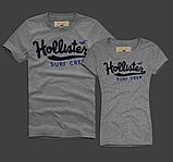 Hollister Мужские и Женские футболки 100% хлопок, фото 9
