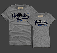 Hollister original Мужские и Женские футболки 100% хлопок, фото 1