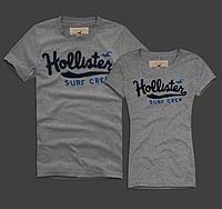 Hollister original Женские и Мужские футболки 100% хлопок, фото 1